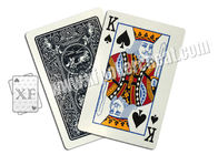 Standard Size Black Marked Poker Cards For Poker Predictor / Magic Show / Gambling