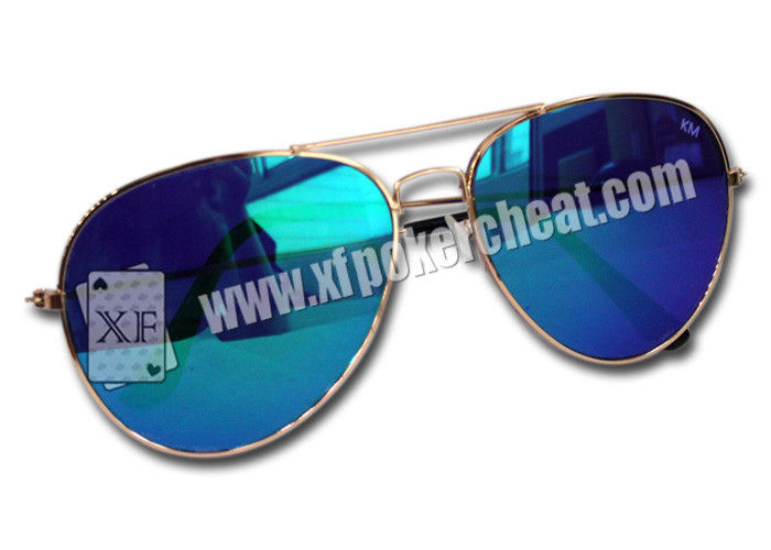 Vintage And Fashionable Invisible Sunglasses For Marked Playing Cards