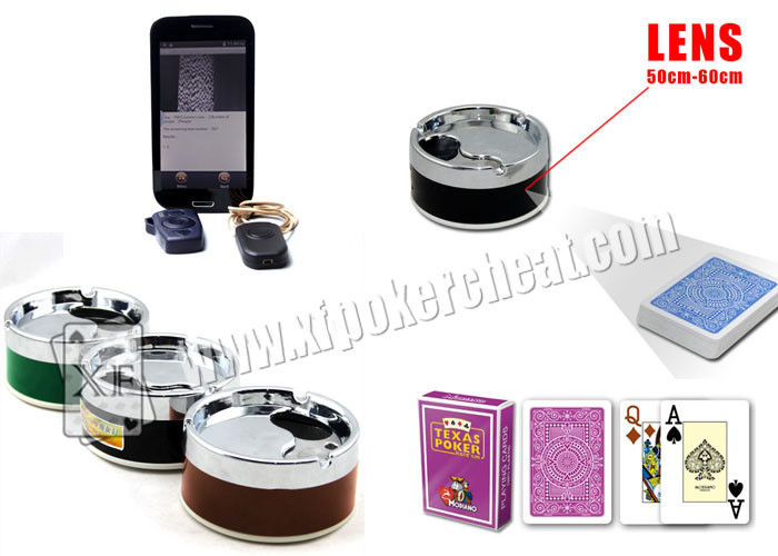 Ashtray Lens Poker Scanner To Scan Sides Poker Cheat Card And Cheat Playing Cards