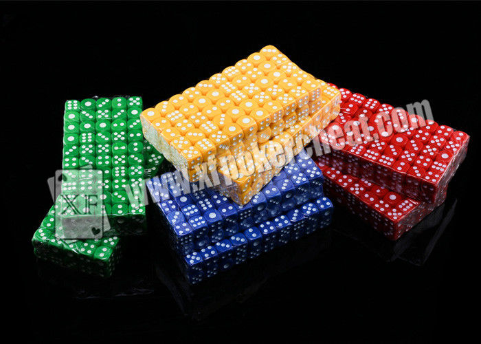 Colorful Liquid Casino Magic Dice Gambling Cheat Devices Plastic Mercury