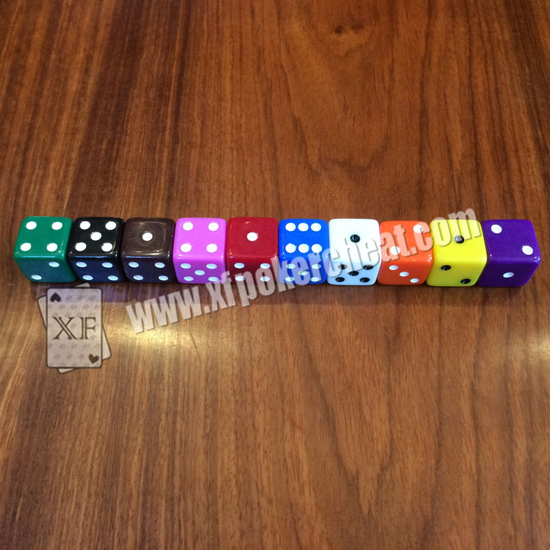 Gamble Device Casino Magic Dice / Telecontrol Dice With Earpiece To Tell Result