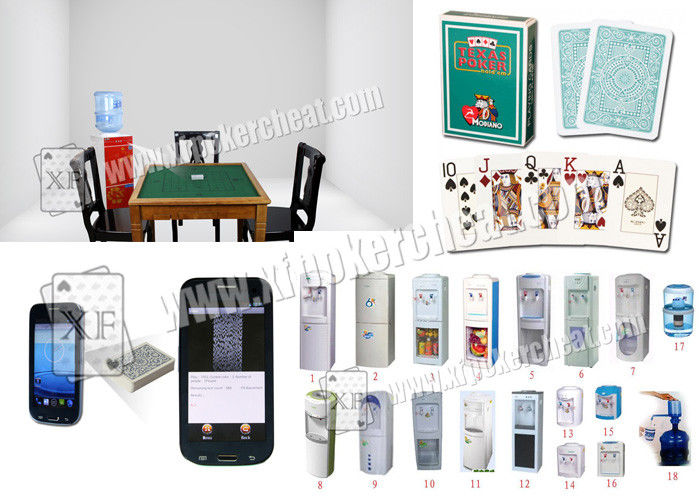 Casino Games Barcodes Marked Cards Poker Scanner Water Cooler Camera