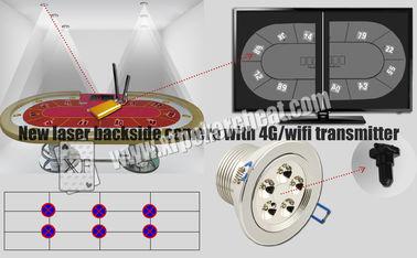 4g 와이파이 전송기를 가진 공정한 판단 레이저 뒷쪽 사진기 트럼프패 스캐너